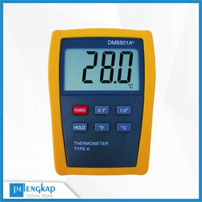 Alat Pengukur Suhu Digital AMTAST DM6801A+